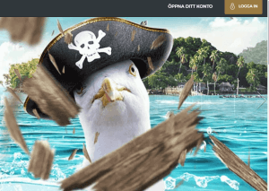 PirateSpin Casino startsida