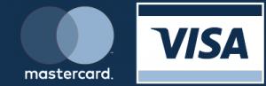 Visa Mastercard liten banner