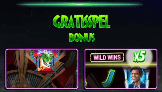 The Mask online slot gratisspel bonus