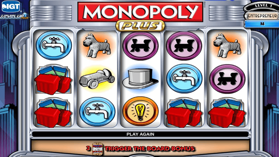 IGT software Monopoly slot