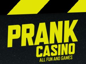 Prank Casino startsida logga
