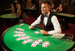 Blackjack live dealer Evolution