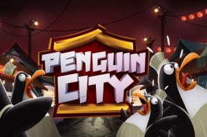 Penguin City free spins hos Mobilebet