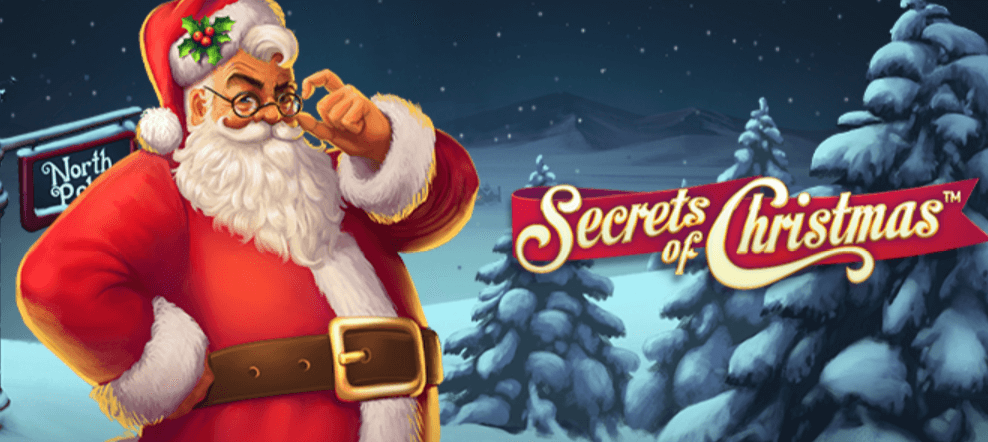 Secrets of Christmas slot banner