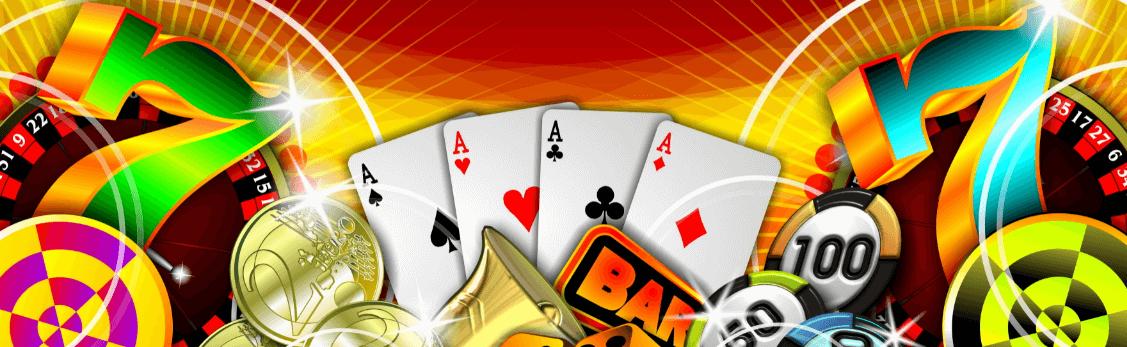 omsattningskrav banner med casinosymboler