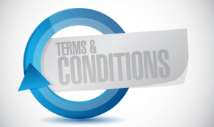 omsattningskrav terms and conditions i text