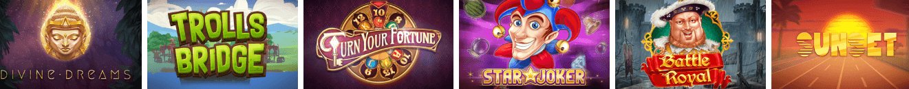 pronto casino spelutbud slots