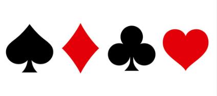 Trey Poker symboler spelkort casinoguide