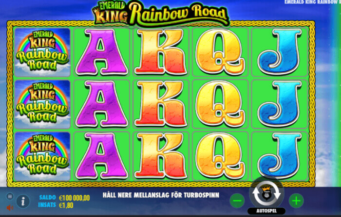 Emerald King Rainbow Road - slot